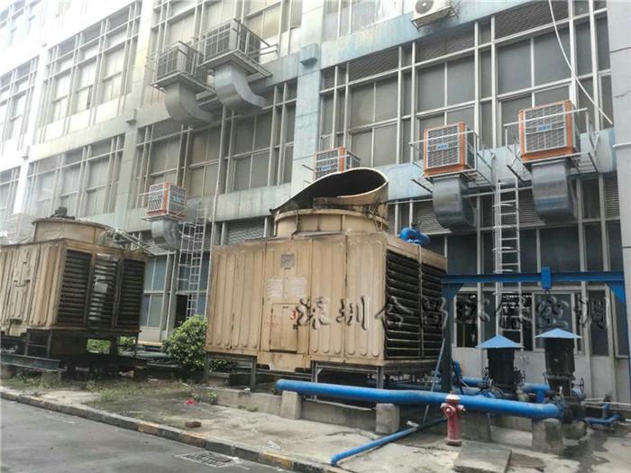 创维首次合作安装的节能环保空调3