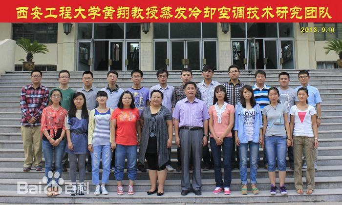 黄翔教授蒸发冷却空调技术团队
