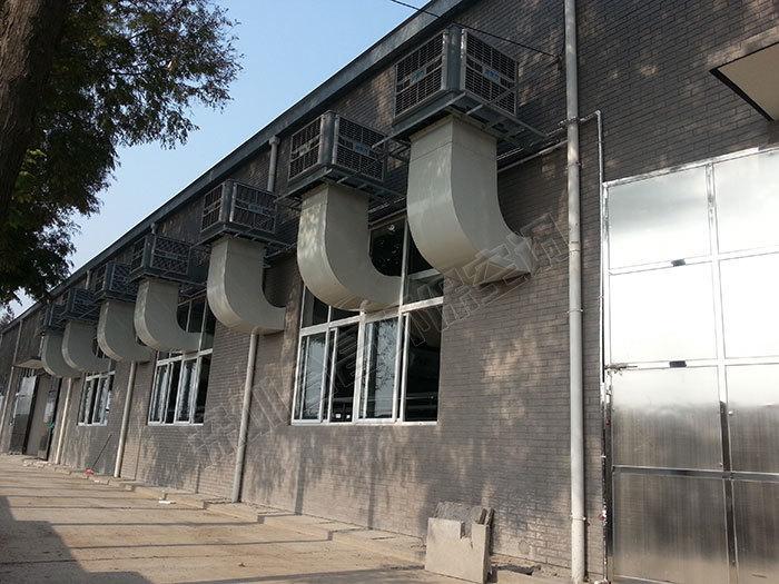 环保空调厂房降温案例